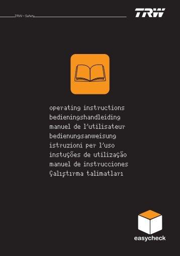 Manual de instruções 6.0.0.pdf - TRW Automotive Aftermarket