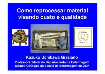 Esterilização por Ácido Peracético - Hospital Santa Isabel