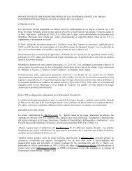proyecto de estudio epizootiologico de las enfermedades de
