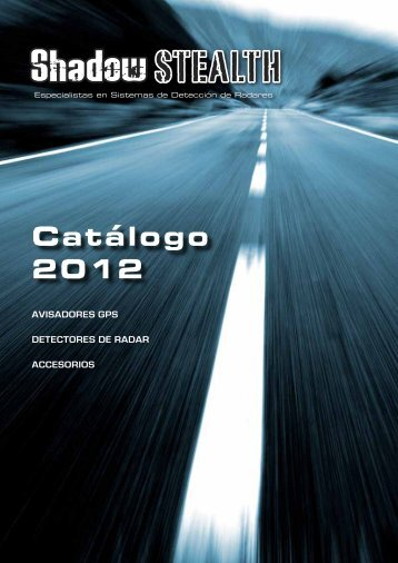 Catálogo 2012 - Shadow-Stealth