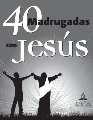 40 madrugadas con Jesús - Iglesia Adventista Agape