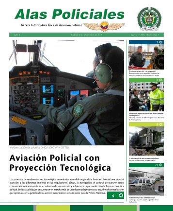 Aviación Policial con Proyección Tecnológica - Policía Nacional de ...