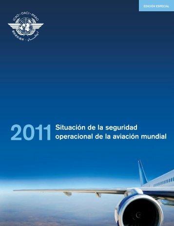 Situación de la seguridad operacional de la aviación mundial - ICAO