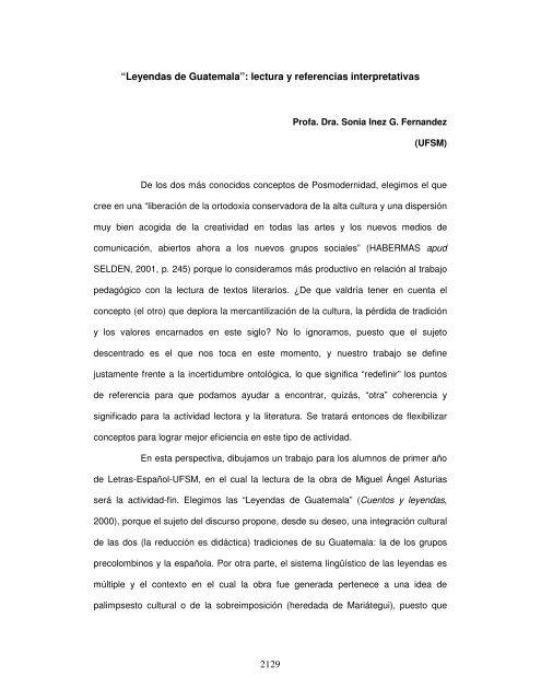 2129 Leyendas De Guatemala Lectura Y Referencias Interpretativas