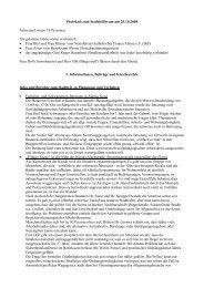 Protokoll zum Stadtteilforum am 20.10.2008 Anwesend waren 18 ...