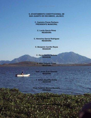 3er. Informe de Gobierno Municipal - Gobierno del Estado de Jalisco