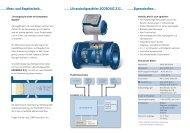 Mess- und Regeltechnik Ultraschallgaszähler ECOSONIC X12 ...