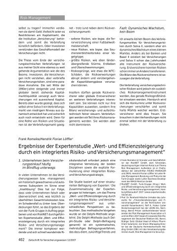 Risk-Management - RiskNET GmbH