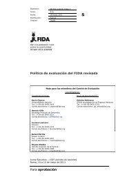 Para aprobación Política de evaluación del FIDA revisada - IFAD