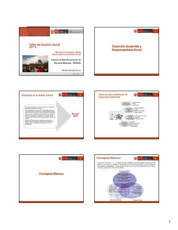 presentación 3 - Ministerio de Energía y Minas