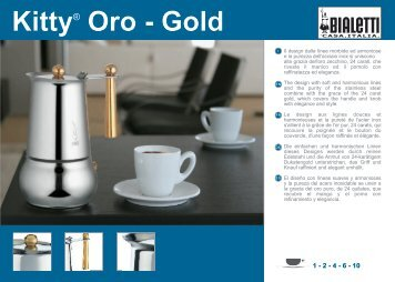 Kitty® Oro - Gold - Bialetti