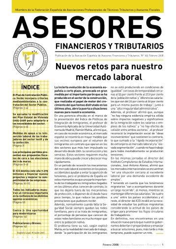 noticias - Asociación Española de Asesores Financieros y Tributarios