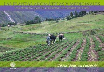 Las plantas aromáticas y medicinales. Una alternativa para - CEDEP