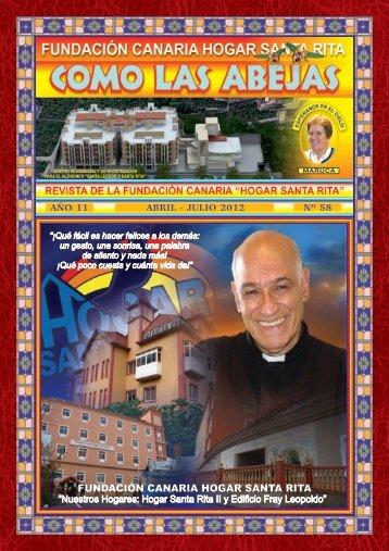 """Última Revista """"Como las abejas"""" - Fundación Hogar Santa Rita"""