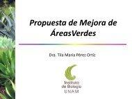 05PropuestadeMejoradeAreasVerdes - Instituto de Ingeniería, UNAM