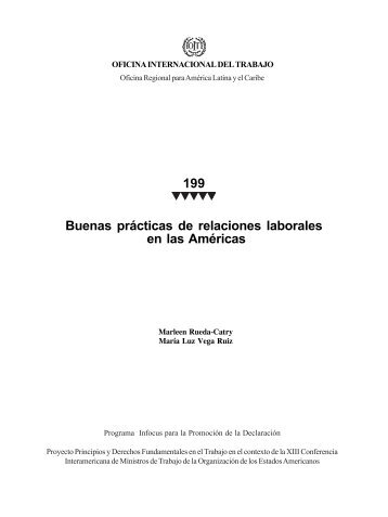 199 Buenas prácticas de relaciones laborales en las Américas