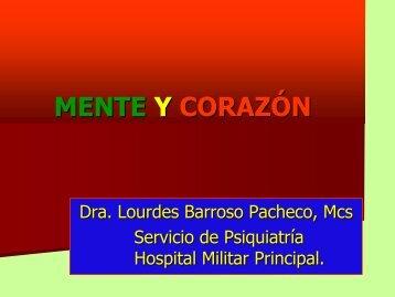 SALUD MENTAL Y TRASTORNOS CARDIOVASCULARES