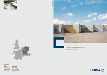 LÜRA-Stellwände aus Stahl - RMS GmbH