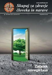 Začetek novega časa - Skupaj za zdravje človeka in narave