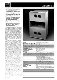 PDF Technische Daten - Road Sound GmbH