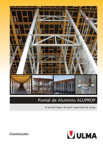 Puntal de Aluminio ALUPROP - Interempresas