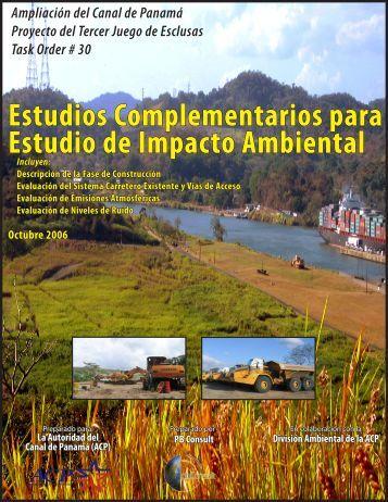 Estudios Complementarios para Estudio de ... - Panama Canal