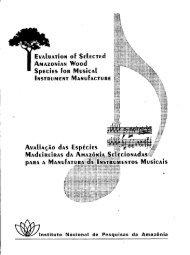 livro: avaliação das espécies madeireiras da ... - Mundo Florestal