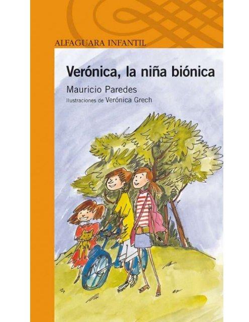 libro veronica la nia bionica