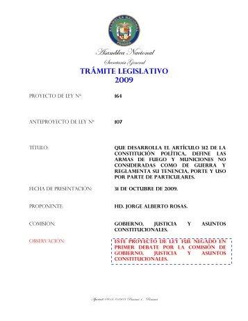 que desarrolla el artículo 312 de la constitución política, define las ...