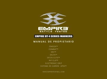 Empire BT-4 MarkersManual_Spanish.indd - Paintball Solutions