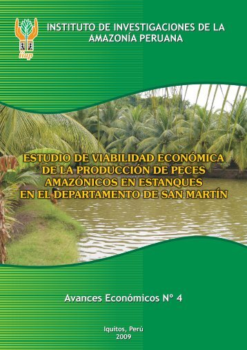 estudio de viabilidad económica de la producción de peces ...