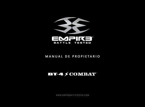 MANUAL DE PROPIETARIO - Paintball Solutions