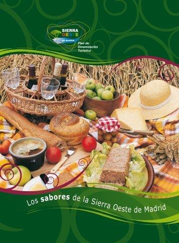 el libro 'Los sabores de la Sierra Oeste de Madrid' - Madridiario