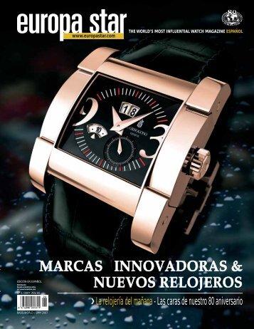 MARCAS INNOVADORAS & NUEVOS RELOJEROS - europastar.biz
