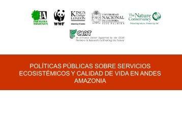 políticas públicas sobre servicios ecosistémicos y ... - Infobosques