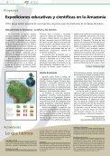 EN LAS AGUAS DE LA INTEGRACIÓN - OTCA - Page 6