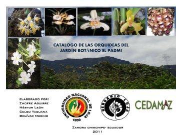 Catálogo orquideas - Universidad Nacional de Loja