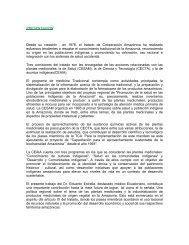 PRESENTACION Desde su creación , en 1978, el tratado de ... - OTCA