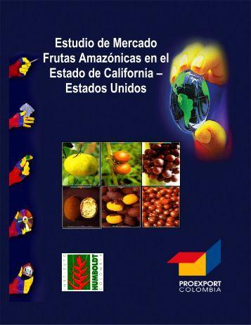 Estudio de Mercado Frutas Amazónicas en el Estado de California ...