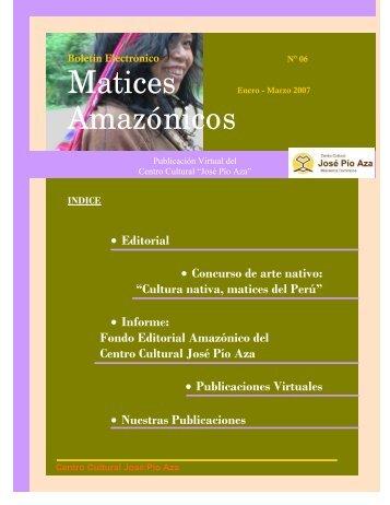 Amazónicos - Centro Cultural José Pío Aza