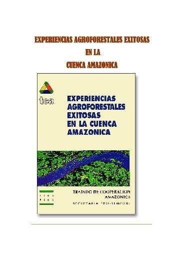experiencias agroforestales exitosas en la cuenca amazonica