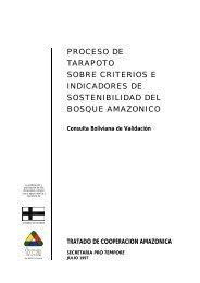 PROCESO DE TARAPOTO SOBRE CRITERIOS E ... - OTCA