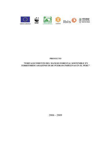 """proyecto """"fortalecimiento del manejo forestal sostenible en ... - Cesvi"""