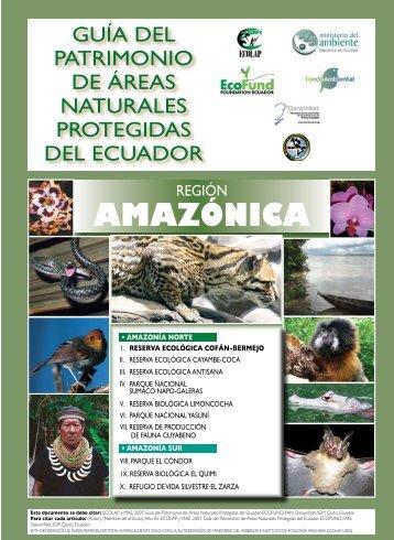 amazónICa - Ministerio del Ambiente
