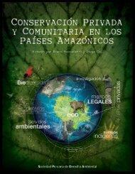 Conservación privada y comunitaria en los países ... - CEDAF