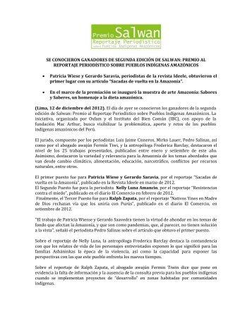 NOVEDOSA MUESTRA DE ARTE AMAZÓNICO - Oxfam America ...