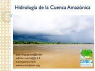 Hidrología de la Cuenca Amazónica