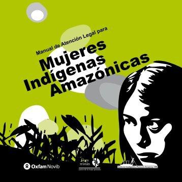 manual de atención legal para mujeres indígenas amazónicas