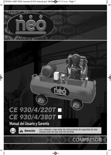 PDF - manual - Neo Herramientas