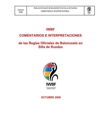 Comentarios e Interpretaciones Reglas Oficiales Baloncesto ... - Feddf